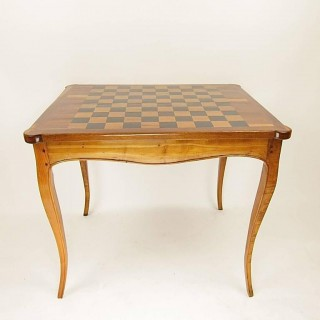 French 18th Century Louis XV Game Table or