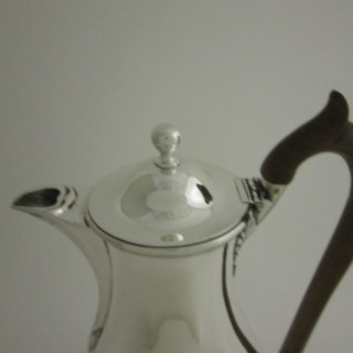 Antique George III Sterling silver hot water pot