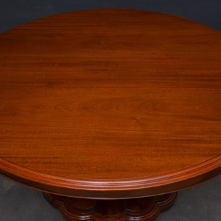 Early Victorian Mahogany Centre Table Dining Table