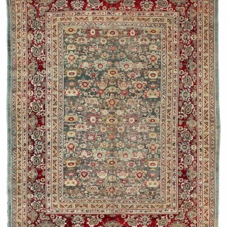 Antique Agra carpet