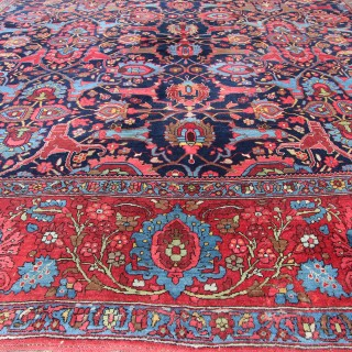 Enormous Antique Bidjar carpet