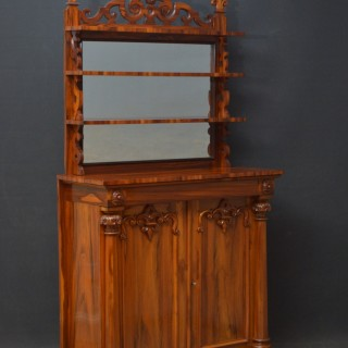 Early Victorian Goncalo Alves Chiffonier
