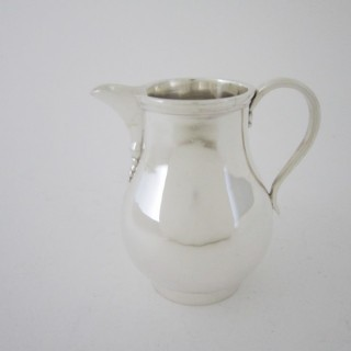 Antique George V Sterling silver cream jug