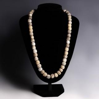 Mammoth Bead Necklace