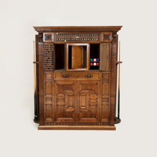 BILLIARDS/SNOOKER CABINET BY THURSTON & CO