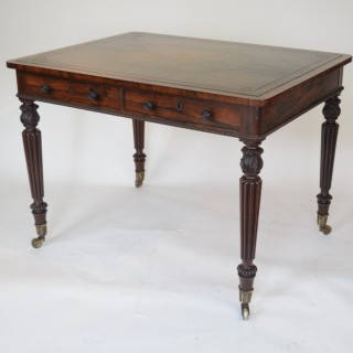 Gillows Rosewood Writing Table