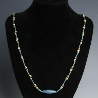 Ancient Egyptian Necklace with Amarna Beads