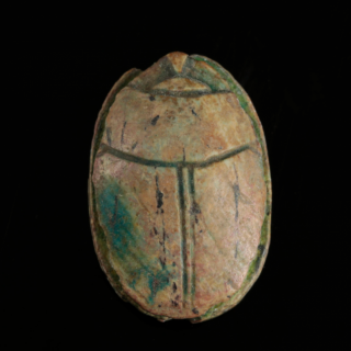 Mustaki Collection Scarab with Royal Cartouche