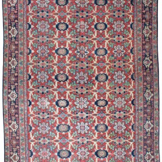 Antique Mahal carpet, Persian