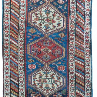 Antique Shashavan runner, Northern Persia