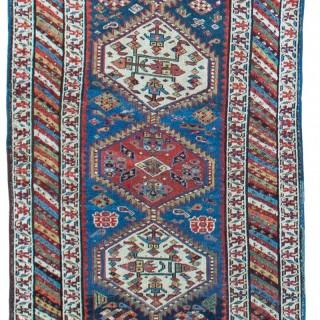 Antique Shashavan runner, Northern Persia