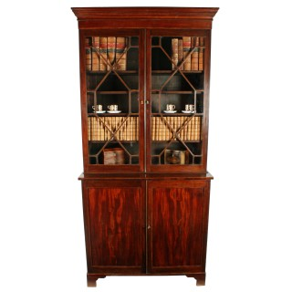 19th Century Georgian Style Bookcase