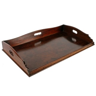 18th Century Georgian Mahogany Tray