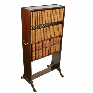 Georgian Mahogany Book Stand