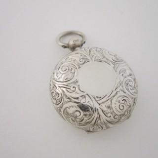 Antique Edwardian Sterling silver Sovereign case