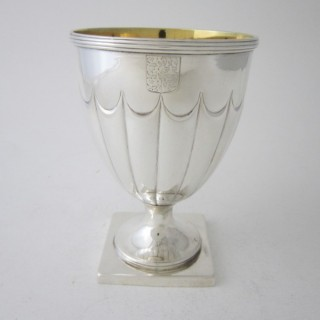 Antique William IV wine goblet