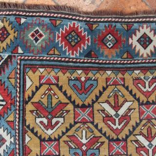 Antique Shirvan long rug, Caucasian