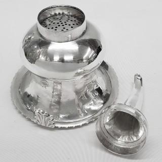 Georgian Silver Wine Funnel