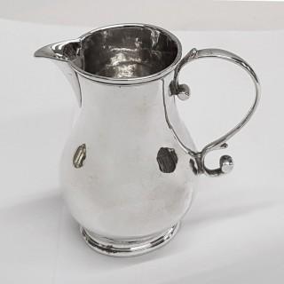 George II Silver Cream Jug