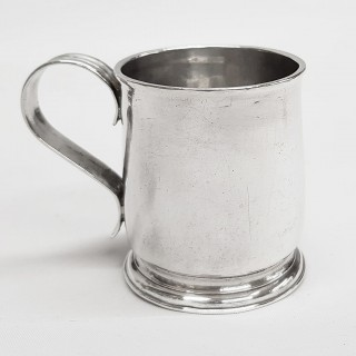 Antique George I Miniature Silver Mug