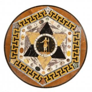 Maltese Specimen Marble Table Top Attributed to Darmanin of Malta