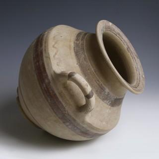 Messapian Terracotta Amphora
