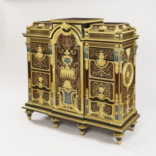 A Very Fine Cabinet by Charles-Guillaume Winckelsen (1812-1871)