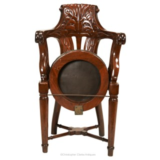 Ship's Chair from from the White Star Line's  RMS Olympic