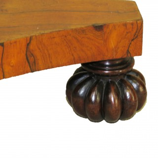 English Regency Period Rosewood Circular Occasional Centre Table