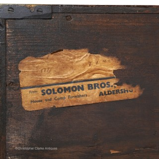 Campaign Military  Chest By A&N CSL For Solomon Bros. Aldershot