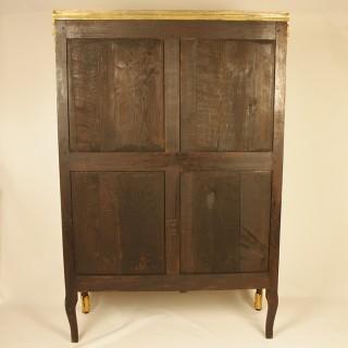 18th Century French Louis XV/XVI Transitional Kingwood and Amaranth Vitrine or Library