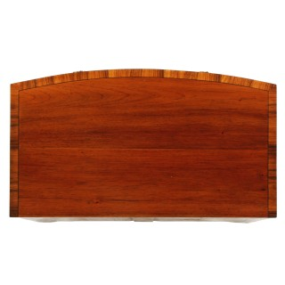 Small Regency Bow Front Chest