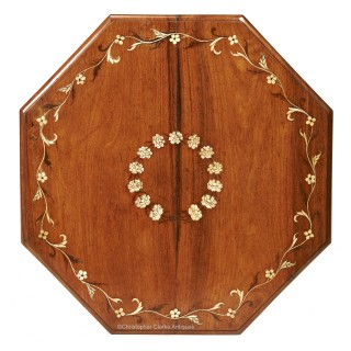 Anglo Indian Octagonal Tripod Campaign Table