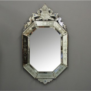 Venetian Shaped Mirror