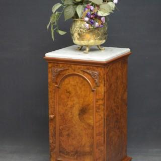 Victorian Walnut Pedestal