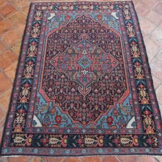 Antique Senneh rug