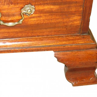 18th Century Chippendale Period Mahogany Chest Of Drawers