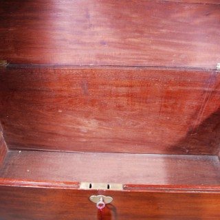 Mid 18th. century Mahogany Mule Chest
