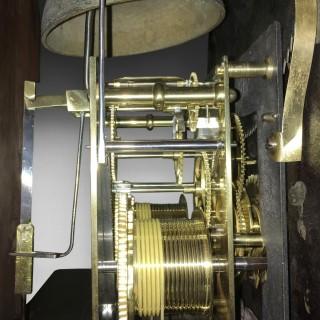 George III Mahogany and Inlaid Longcase Clock by Lott Barwise of Cockermouth