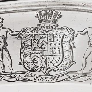 George III Silver Serving Platters