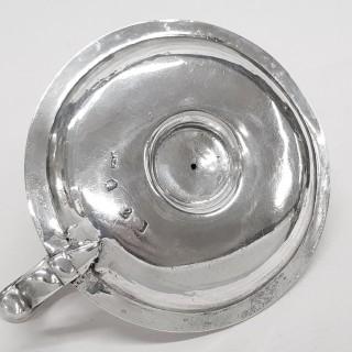George II Silver Chamberstick