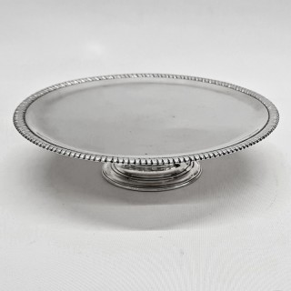 George II Footed Salver