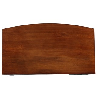Edwardian Mahogany Bow Front Chest