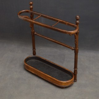 Early XXth Century Czechoslovakian Bentwood Umbrella Stand