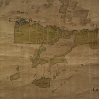 Grand Plan of the Estate of the Chateau de Plancy