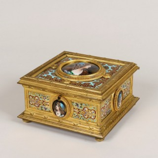 A French Jewellery Casket