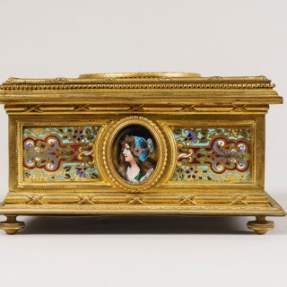 A French Jewellery Casket