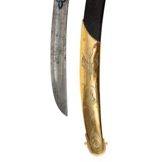 Midshipman Proctor's Sword for Valour at the Battle of Copenhagen