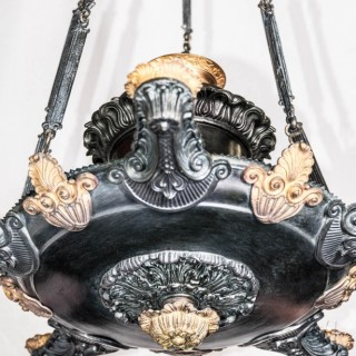 French colza style toleware hanging light