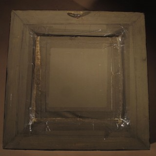 A Decorative Framed Silver? No Marks Relief Of Drinking-Bout.